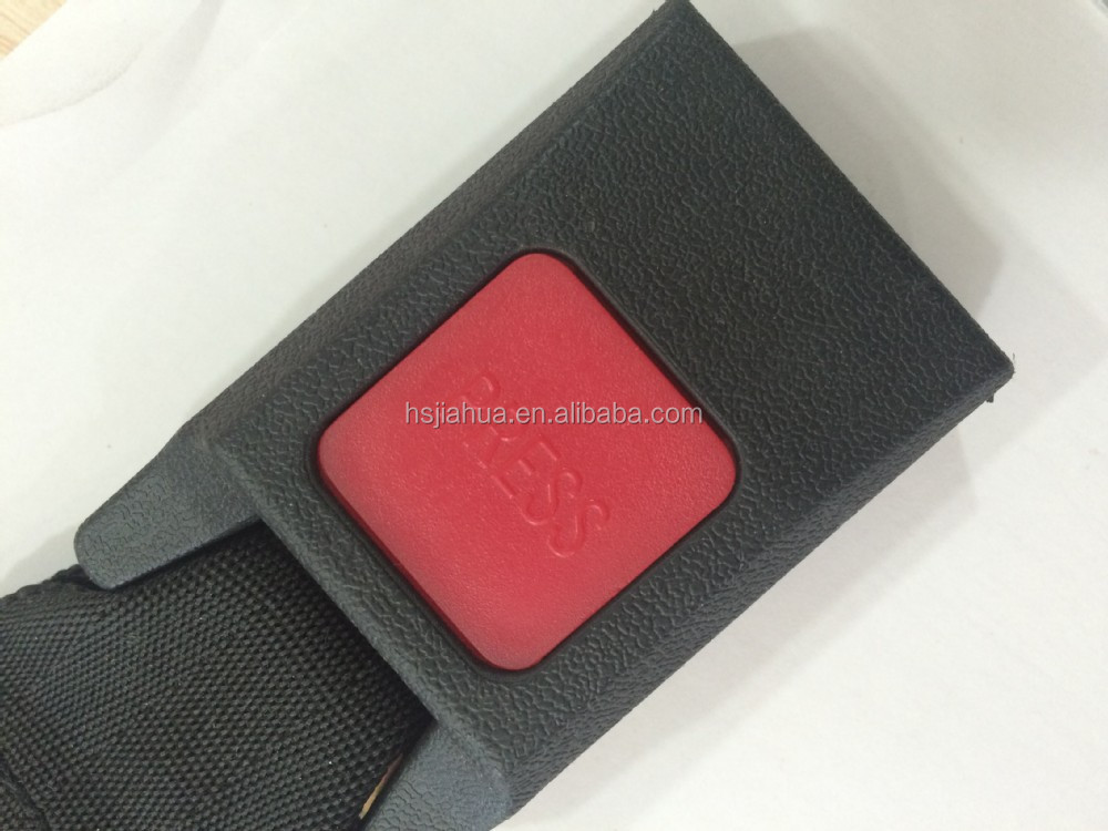 simple two point safety belt buckle