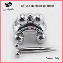 new design 3D roller massager fat burning massager roller facial slimming tool