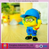 Customized Despicable Me plastic toy,mini plastic toy,gift toys for children