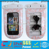 Beautiful color style waterproof case underwater for mobile phone