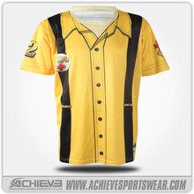 Alibaba chine sublimation maillots personnalisé yankees baseball jersey vêtements de bébé
