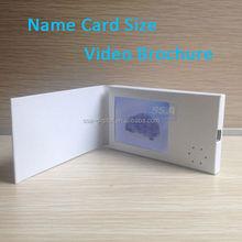 New Arrival Light Sensor TFT Video Cards Video In Print Digital Printing Brochure