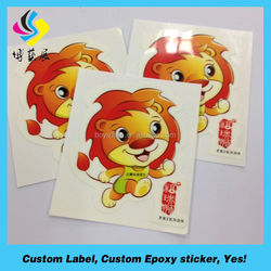 Cheap adhensive decals labels waterproof PVC paper full color sticker design for motorcycle