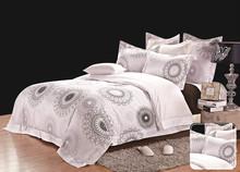 Boyazi Melody of Sea 100% cotton 40S sateen plain bed linen