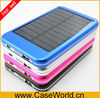 5000MAh solar power bank smart phone Solar Charger for Samsung ipad iphone htc