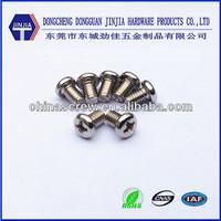 DIN7985 cross pan head m4 machine screw 6mm length