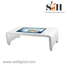 42 inch multi points touch screen dual core interactive table