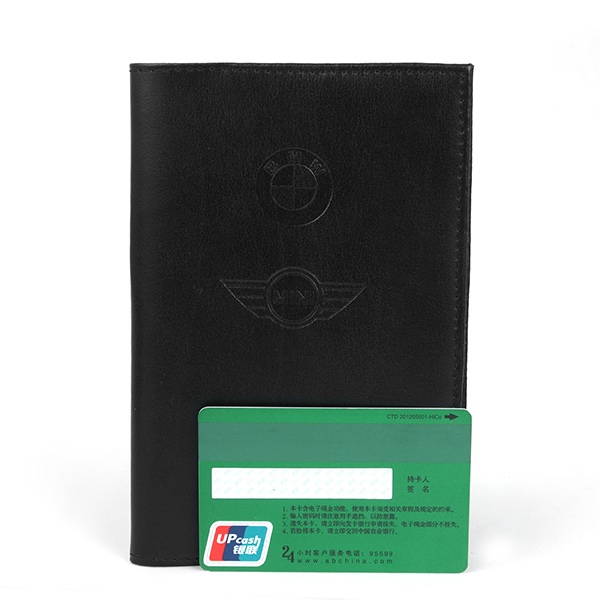 Factory direct wholesale passport cover custom genuine leather passport holder