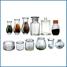 round glass storage jar,food grade glass jars, OEM glass bottles