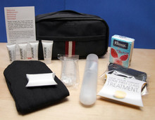 Luxury travel amenities kit for airline business class