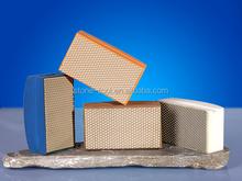 Z Lion foam back resin diamond polishing hand pads for marble and granite