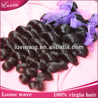1/Pc 36 inch peruvian virgin remy hair extension loose wave