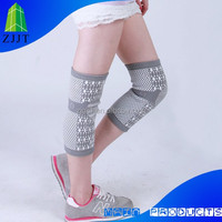 Elastic knitting running pro sport knee support