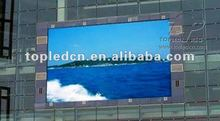 full-color large Basketball commercial message led display