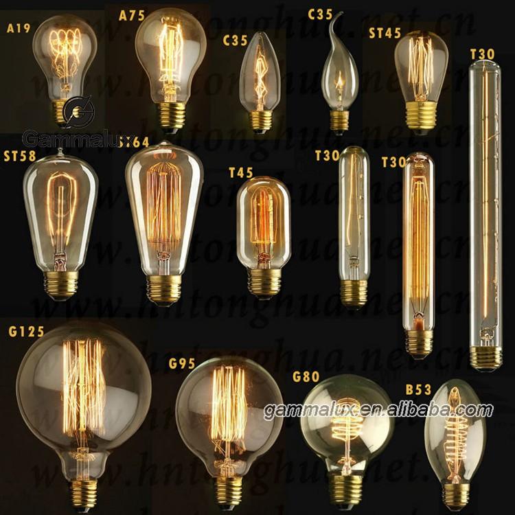 globe 80 straight big and round vintage light bulb special retro