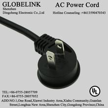 NISPT-1 18-16AWG 2pin UL AC Power Cord