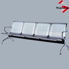 Perforated gang chairs hospital seating T-A04
