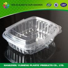 Descartáveis por atacado recipiente de plástico transparente para biscoitos