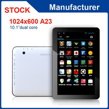 10 inch Allwinner A23 dual core 1GB RAM 16GB ROM android 4.4 tablet pc