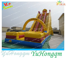 China Manufacturer Inflatable Duck Design Slide Bouncer ,Inflatable Adult Size Slides In Outdoor Playground