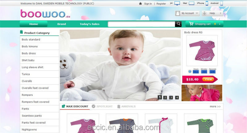 Free 3d Clothes Design Online Baby Clothing Website Design