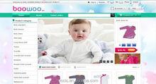 Baby Clothing Website Design E-commerce Business Online China Software Service International Store Graphic/3D/Logo/Bann Design