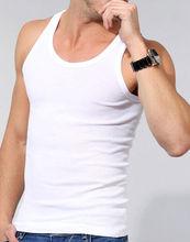 mens summer vest, tank tops wholesale, t-shirt wide neck