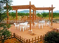 NEW Eco-friendly Outdoor Decking Pergola