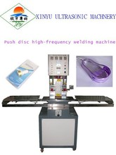 Push reel stationery pvc welding high frequency machine