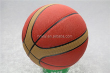 hot sell size 7 /6/5/4/3/2/1 mini rubber basketball with competitive price from China