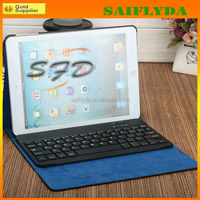 High quality Wireless Bluetooth Keyboard case for iPad 2 3 4 with PU Leather Case