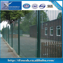 Trade Assurance Plastic Coated & Galvanised Curvy Welded Fence(ISO 9001)
