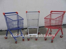 fashionable shopping grocery cart
