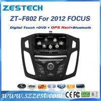 Zestech Dual Core Car DVD GPS Navigation for Ford Focus 2012 2013 2014 with TV Radio Bluetooth+SWC+RDS+AV+AUX IN+ Free Map card