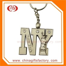 2015 New Design Custom Swarovski Wholesale Crystal Keychain