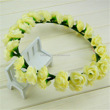 Top quality antique polyester hawaii flower lei garland