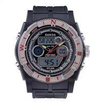 Fashionable new products digital silicone bracelet led watch