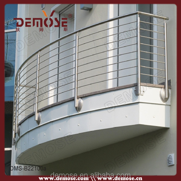 Modern balcony railings suppliers stainless steel balcony for Terrace grills design