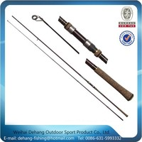 Carbon And Glass Composite Material Rod Fishing Pole For Carp