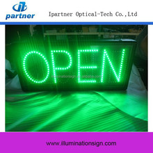 High Quality Waterproof Open And Close Led Sign Light