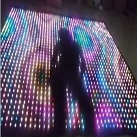 HI-COOL led decoration pixel light ceiling film led video curtain
