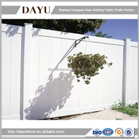 Hot Sale Plastic Security Temporary Privacy Fence Panels
