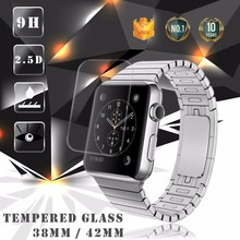 Factory Supply !! 0.2mm Full Cover 9H Anti-Shock tempered glass screen guard for Apple Watch