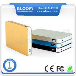 2015 shenzhen portable 5000mah power bank slim power bank 5000 mah for android mobile phone, iphone 5 5s 6 6s