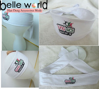 professional printed logo elastic cotton custom headband