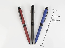 stylus ballpen, pen for smartphone with engraved logo
