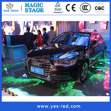 RGB full color indoor led small pixel pitch stage curtain dance floor display screen