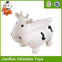 PVC inflatable Toy Animal,Bouncy animal,Jumping toy--milk cow