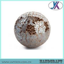 Alta calidad de vidrio decorativo de color del mosaico venta al por mayor bola de espuma de poliestireno