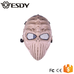 Airsoft Spine Skull Gun Game Protection Safety Full Face Paintball Mask